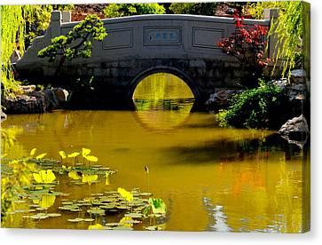 Bridge Canvas Print by Lyle  Huisken