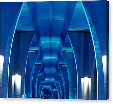 Bridge Miami Fl Canvas Print