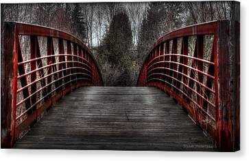 Bridge Canvas Print by Michaela Preston