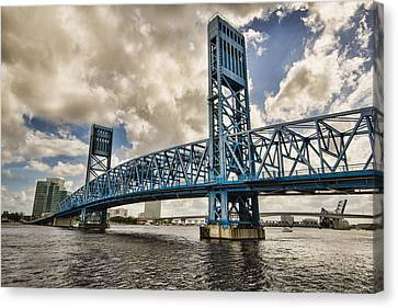 Bridge Of Blues Canvas Print