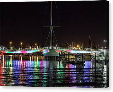Bridge Of Lights Canvas Print