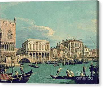 Bridge Of Sighs Canvas Print by Canaletto