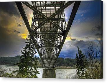Bridge Of The Gods Canvas Print