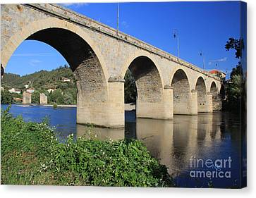 Bridge Of The Orb Canvas Print by Nelson Smith