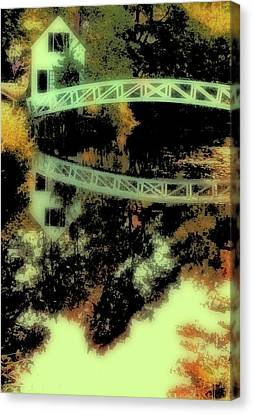 Bridge Over The River Canvas Print
