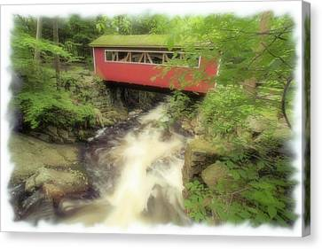 Bridge Over Troubled Water Canvas Print by Karol Livote