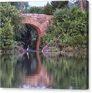 Bridge Reflections Canvas Print