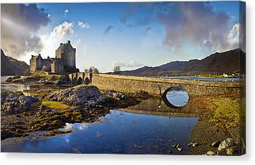 Bridge To Eilean Donan Canvas Print