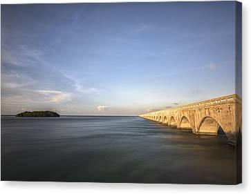 Bridge To Far Canvas Print by Jon Glaser