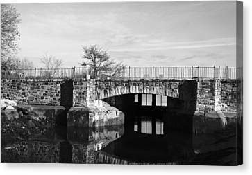 Bridge To Heaven Canvas Print by Jose Rojas