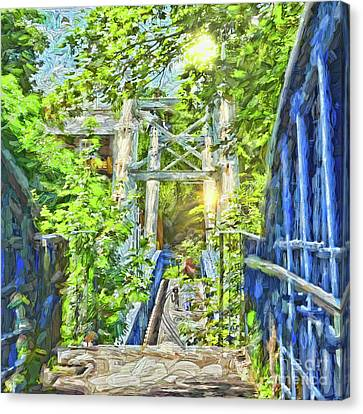 Canvas Print featuring the photograph Bridge To Your Dreams by LemonArt Photography