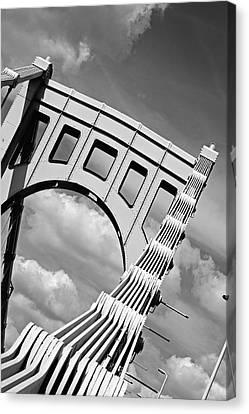 Bridge Top Pittsburgh Pa Canvas Print by Kristen Vota