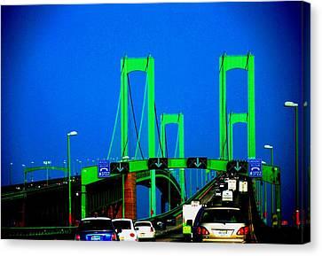 Bridges 1x2010b Canvas Print