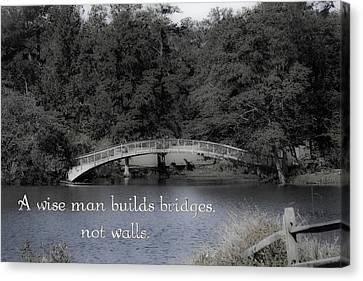 Bridges Canvas Print by Gwen Vann-Horn