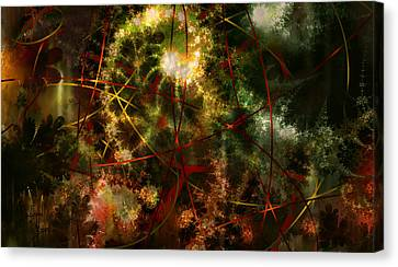 Bridges To Inner Sanctums Canvas Print by Stephen Lucas