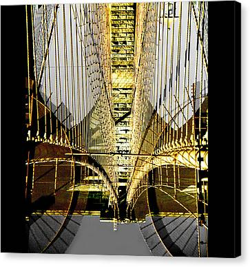Canvas Print - Bridging Borders by Dale Witherow