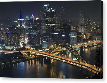 Grandview Canvas Print - Bridging The Gap by Frozen in Time Fine Art Photography