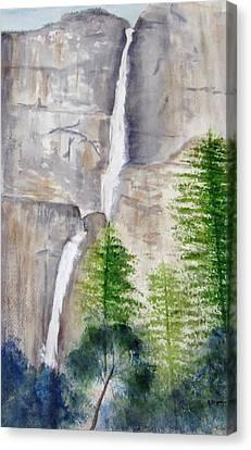 Bridal Veil Waterfall Canvas Print
