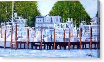 Brielle, Nj Canvas Print