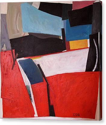 Bright Avenue Canvas Print