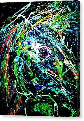 Bright Eyed Night Canvas Print by Cody Williamson