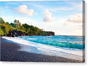 Michael Sweet Canvas Print - Bright Hawaii Sea by Michael Sweet