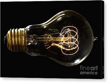 Bright Idea Canvas Print by Mark Miller