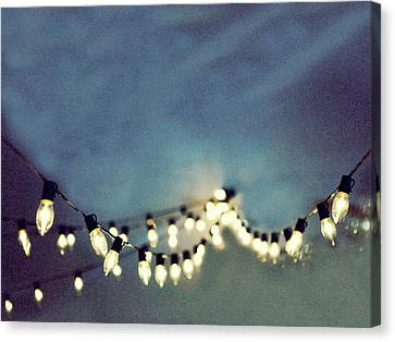 Canvas Print featuring the photograph Bright Lights by Rebecca Cozart