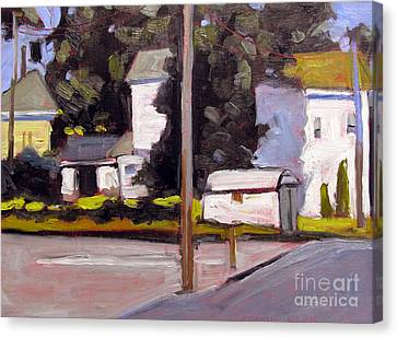 Artistic License Canvas Print - Bright Morning Apartments by Charlie Spear