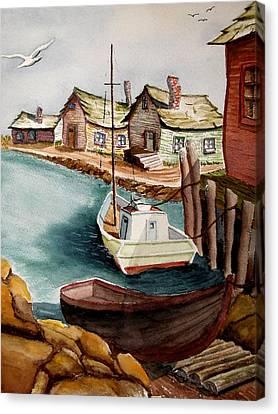 Bright Morning Canvas Print by Robert Thomaston