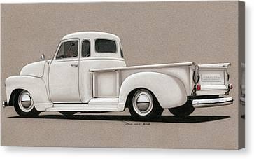 Bright White 3100 Degrees Canvas Print by Paul Kim
