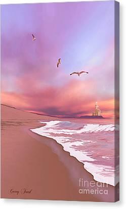 Brighten Beach Canvas Print by Corey Ford