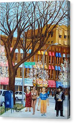 Brighton Beach Memoirs Canvas Print by Leonardo Ruggieri