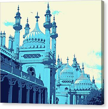 Brighton Pavilion Canvas Print