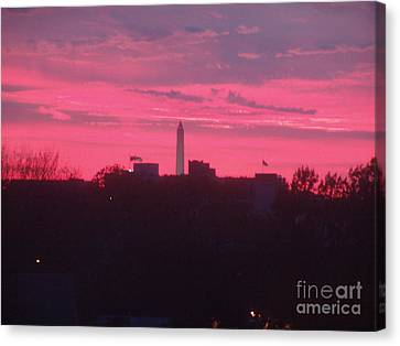 Canvas Print featuring the photograph Brilliant Sunset 1 by Rod Ismay