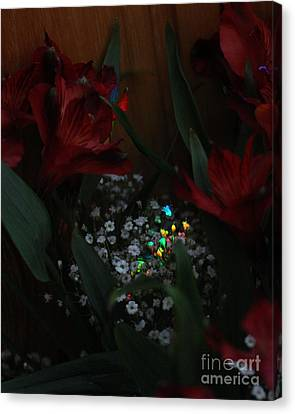 Canvas Print featuring the photograph Brilliantly Shy by Marie Neder