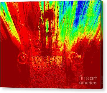 Brimstone Throne Canvas Print by Rick Maxwell