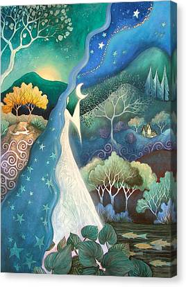 Bringer Of Night Canvas Print by Amanda Clark