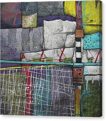 Canvas Print - Bringing It All To The Surface  by Laura Lein-Svencner