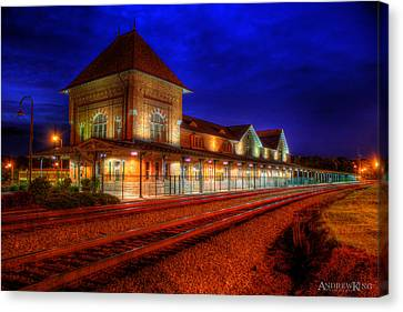 Bristol Train Station Canvas Print by Andrew King