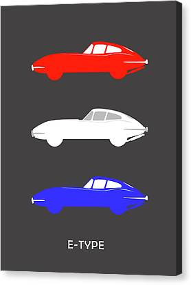 British Icon - Jaguar E Type Canvas Print