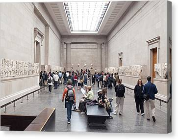 British Museum Gallery 0056 Canvas Print by Charles  Ridgway