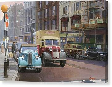 British Railways Austin K2 Canvas Print