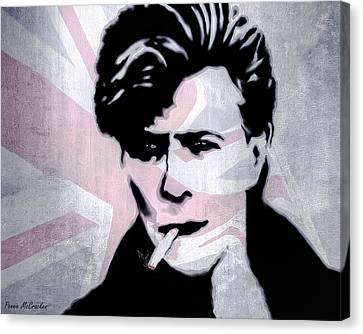 British Rock Canvas Print by Pennie  McCracken