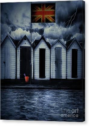 Sombre Canvas Print - British Summer Time by Edmund Nagele