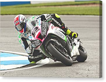 British Superbikes Canvas Print by Peter Hatter