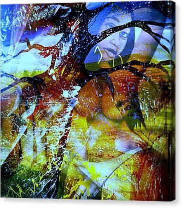 Goree Canvas Print - Britney by Fania Simon