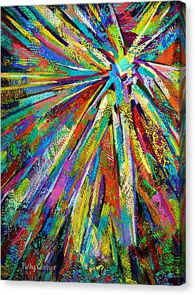 Brittle Enthusiasm Canvas Print