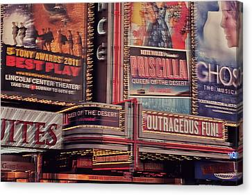 Broadway Canvas Print by Benjamin Matthijs
