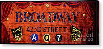 Broadway  Canvas Print by D Harmon